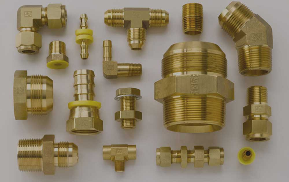 Cupro Nickel 70/30 Compression Tube Fittings