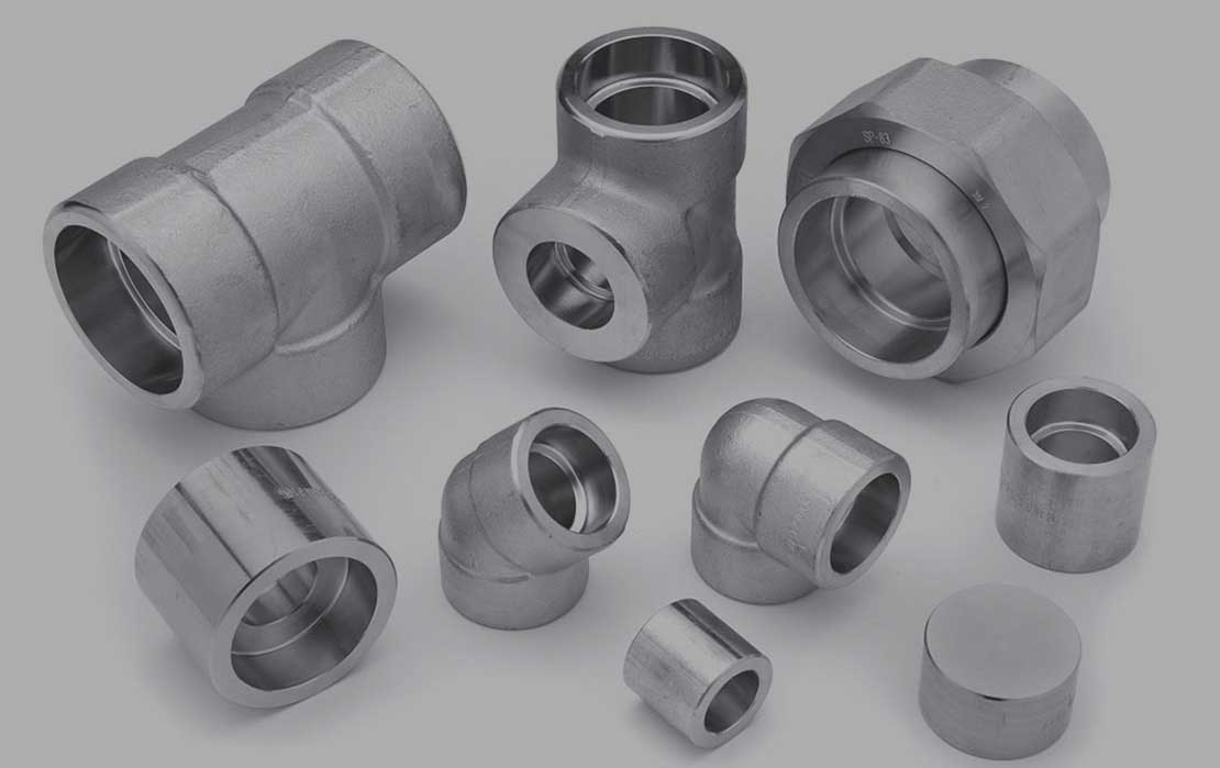 Duplex Steel S31803 / S32205 High Pressure Forged Fittings