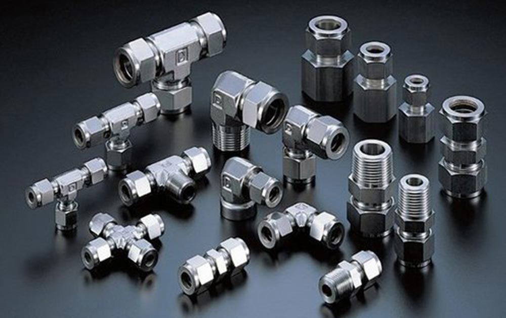 Monel Alloy 400 Compression Tube Fittings