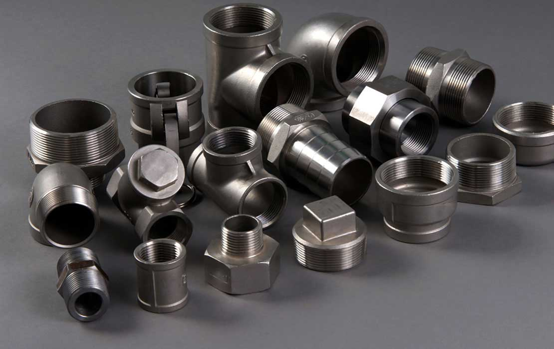 Nickel 200 High Pressure Forged Fittings