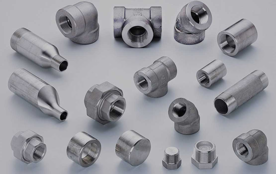 Super Duplex Steel S32750 / S32760 High Pressure Forged Fittings